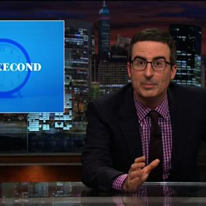John Oliver's Leap Second Plans