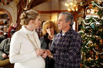 Elizabeth Mitchell , Ann-Margret and Michael Lembeck in Disney's The Santa Clause 3: The Escape Clause