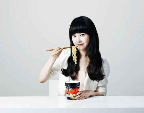 IU New Face of Ramen