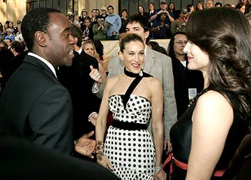 Don Cheadle, Sarah Jessica Parker and Kristin Davis Screen Actors Guild Awards - 2/5/2005
