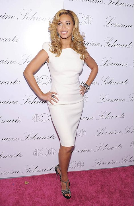 Knowles Beyonce Jewwlry Launch
