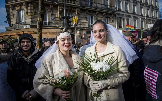 Sore Losers Can't Accept That France Legalized Gay Marriage