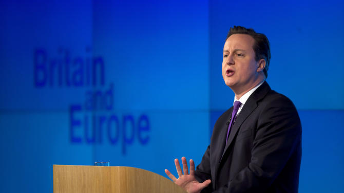Cameron proposes British vote on EU relationship