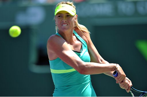Tennis: Sony Open-Sharapova vs Jankovic