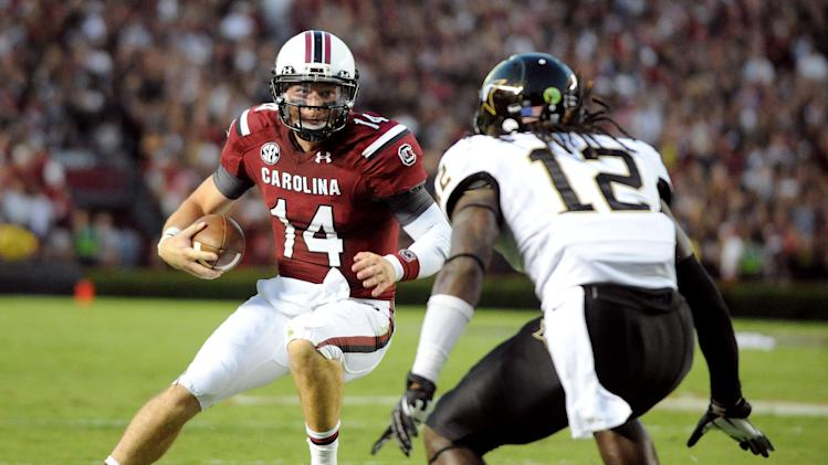 QB Shaw on the rise for No. 12 South Carolina