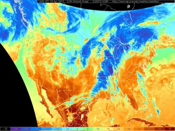 What Severe Weather Looks Like from Space