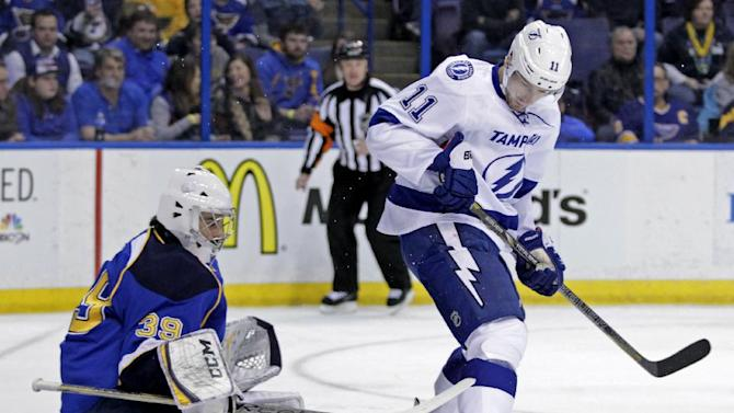 Blues rally past Lightning 4-2