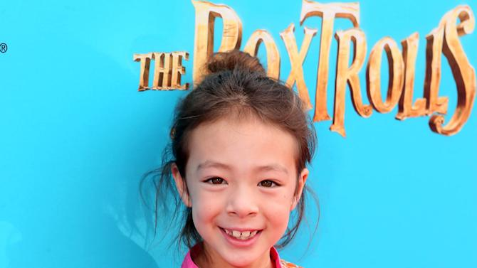 "Aubrey Anderson-Emmons seen at ""THE BOXTROLLS"" LOS ANGELES PREMIERE Presented by LAIKA AND FOCUS FEATURES To Benefit the Imagination Foundation on Sunday, Sep 21, 2014, in Universal City, Calif. (Photo by Alexandra Wyman/Invision for Focus Features/AP Images)"