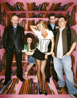 Christopher Lloyd, Marissa Jaret Winokur, Pamela Anderson, Elon Gold and Brian Scolaro FOX's Stacked
