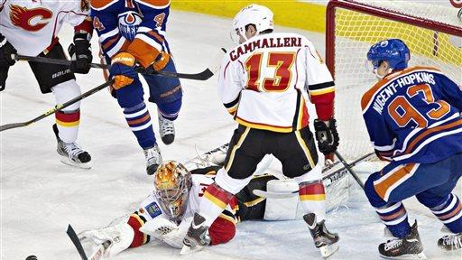 Oilers' win streak at 4 games after beating Flames