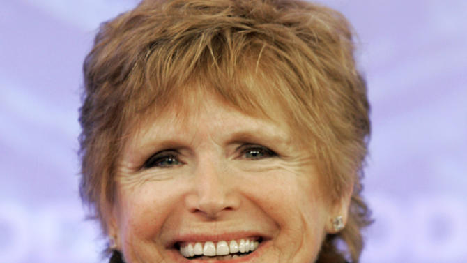 "FILE - In this Feb. 26, 2008 file photo, Bonnie Franklin, of the 1970's sitcom ""One Day at a Time, "" appears with the reunited cast on the the NBC ""Today"" television program in New York.  Franklin, the pert, redheaded actress whom millions came to identify with for her role as divorced mom Ann Romano on the long-running sitcom ""One Day at a Time,""  died Friday, March 1, 2013, at her home due to complications from pancreatic cancer, family members said. She was 69. Her family had announced she was diagnosed with cancer in September (AP Photo/Richard Drew, File)"