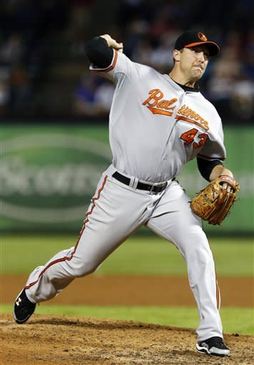 McLouth's HR keys Orioles' 5-3 win over Rangers