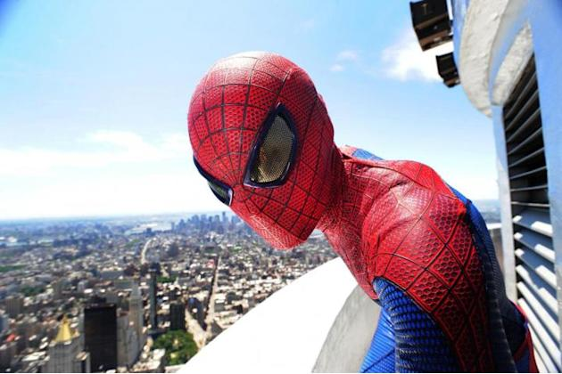 Spider-Man sull' Empire State Building