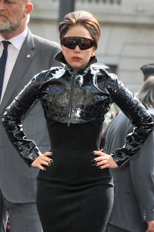 Lady Gaga attends 'Fame' Eau De Parfum Launch at Sephora Champs-Elysees in Paris on September 23, 2012  -- Getty Images