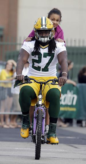 What a catch: Packers' Lacy preps for 3-down duty