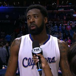 NBA Star Gets Distracted During Post-Game Interview