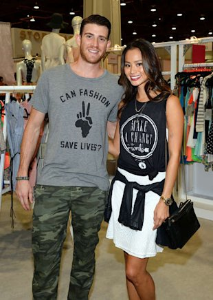 Bryan Greenberg and Jamie Chung