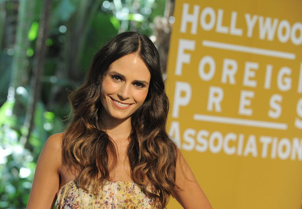 Jordana Brewster attends the Hollywood Foreign Press Association luncheon at the Beverly Hills Hotel on Thursday, Aug. 9, 2012, in Beverly Hills, Calif. (Photo by Jordan Strauss/Invision/AP)