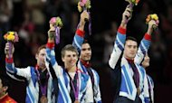 Olympics: Bronze Medal For Britain's Gymnasts