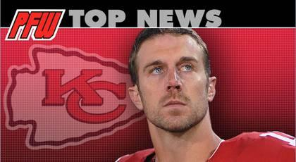 Report: 49ers trade QB Alex Smith to Chiefs