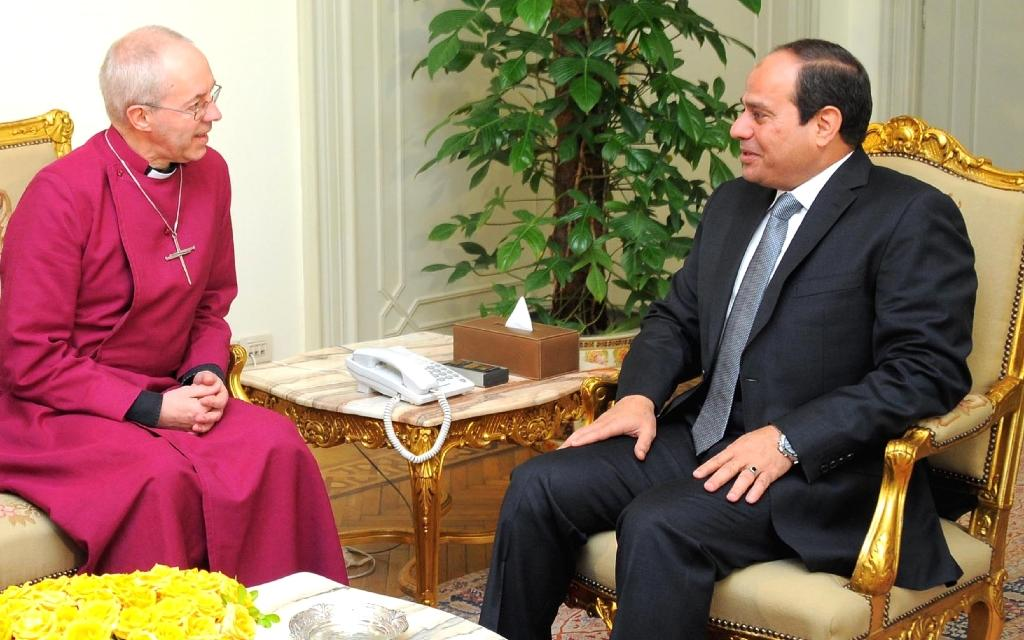 UK archbishop offers 'condolence' in Egypt visit