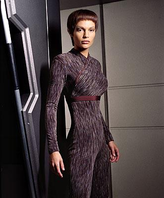 Jolene Blalock as T'Pol on UPN's Enterprise Enterprise
