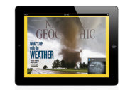 The September edition of National Geographic Magazine is available on the iPad.