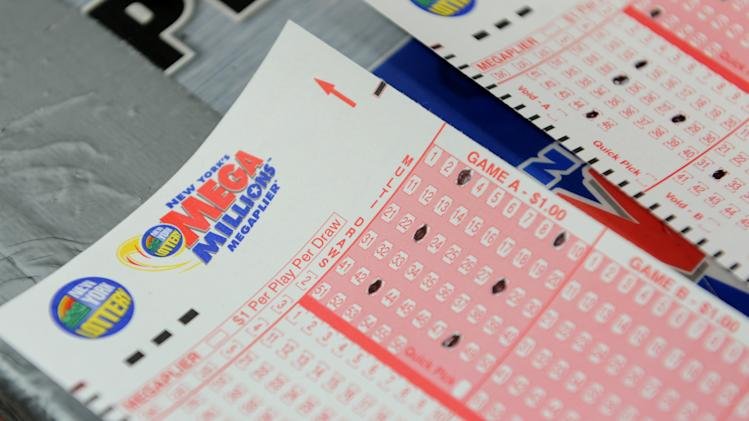 The US Mega Millions lottery jackpot was a record $656 million on Friday, March 30.