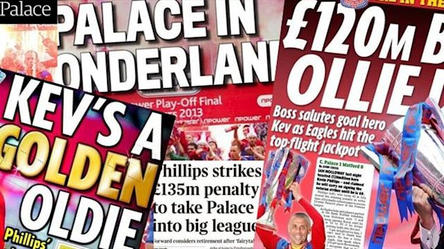 Papers - Crystal Palace - 28 05 2013