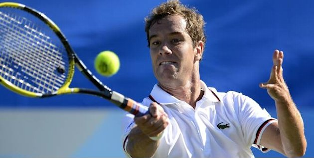 Tennis - ATP - Eastbourne Termin pour Gasquet