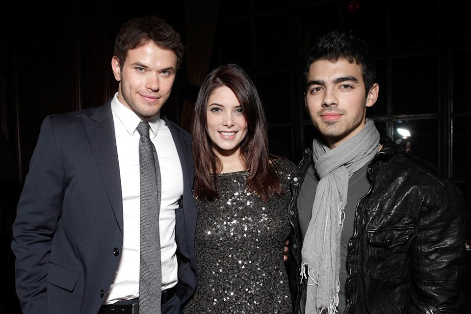 Meskada LA premiere 2010 Kellan Lutz Ashley Greene Joe Jonas