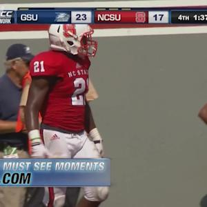 Jacoby Brissett's Game-Winning Touchdown in NC State Opener | ACC Must See Moment