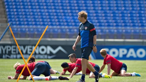 Gold Cup: Jurgen Klinsmann targets title, but emphasizes growth on the way to Brazil 2014