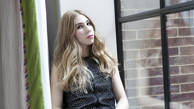 """This Jan. 8, 2013 photo shows American actress Zosia Mamet posing for a portrait to promote the second season of the HBO Comedy Series """"Girls"""", in New York. (Photo by Amy Sussman/Invision/AP)"""