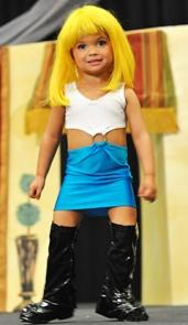 Toddlers and Tiaras Pretty Woman Hooker Costume