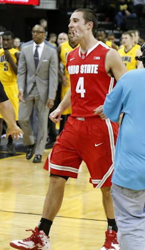 Ohio State upsets No. 17 Iowa 76-69