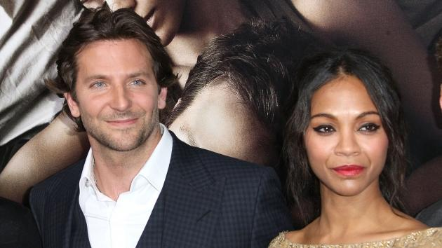 Bradley Cooper and Zoe Saldana arrive at the Los Angeles premiere of 'The Words' at ArcLight Cinemas in Hollywood, Calif. on September 4, 2012 -- Getty Images