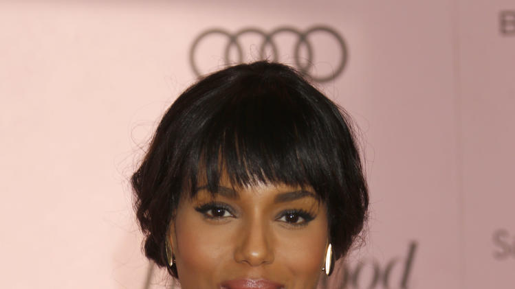 Kerry Washington arrives at The Hollywood Reporter's Women in Entertainment breakfast at The Beverly Hills Hotel on Wednesday, Dec. 4, 2012, in Beverly Hills, Calif. (Photo by Todd Williamson/Invision/AP)