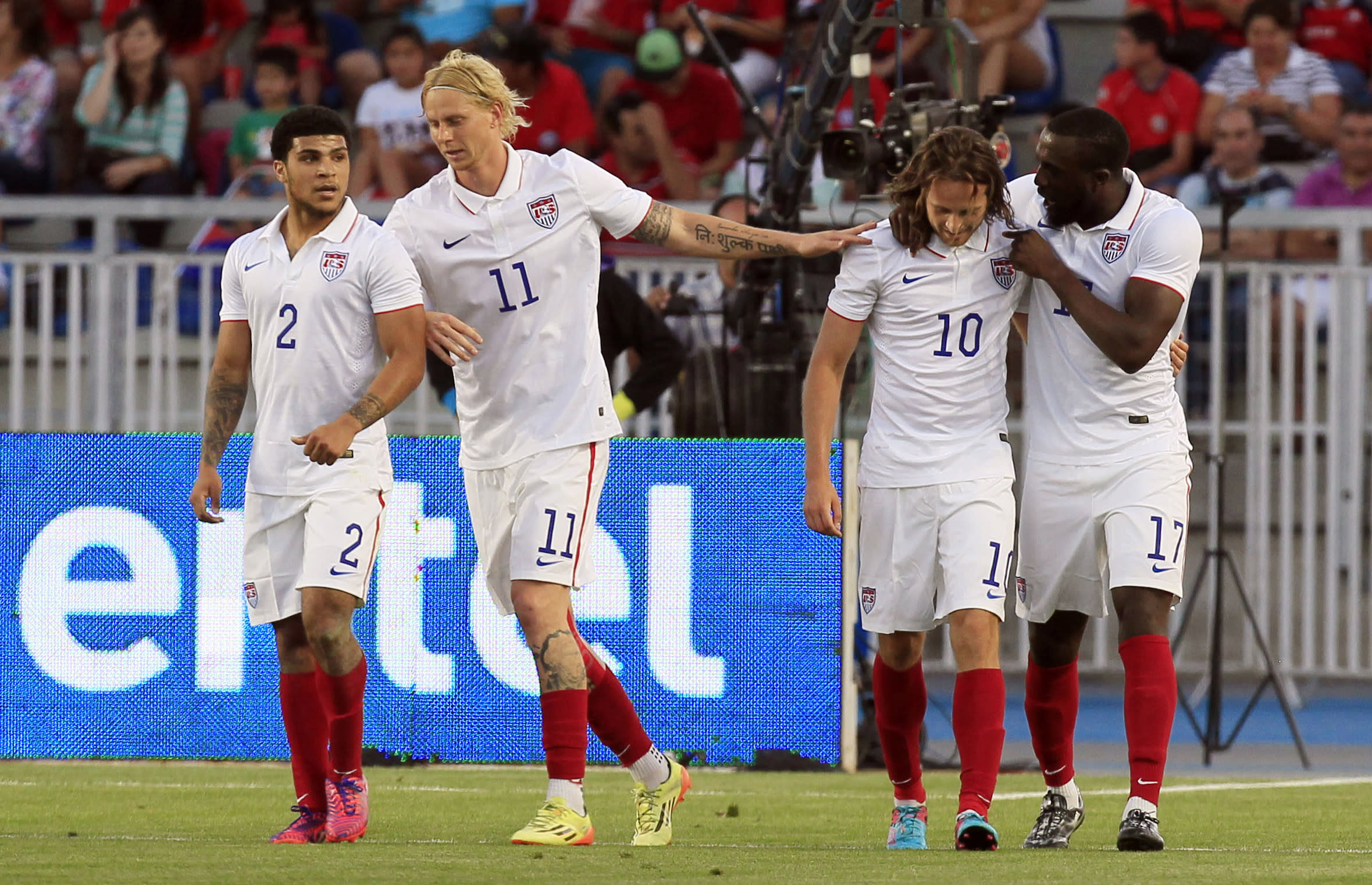 The work has just begun in Jurgen Klinsmann's overhaul of the U.S. men's national team
