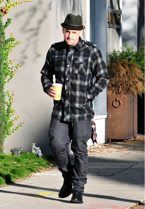 Benji Madden West Hollywood