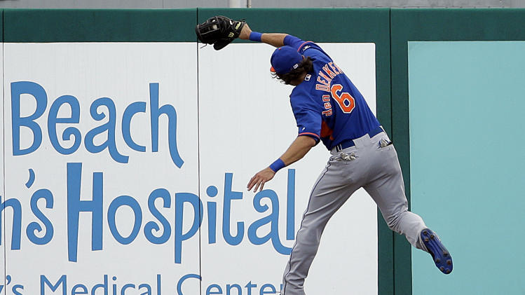 Niese (elbow) exits early, Mets top Cardinals 10-4