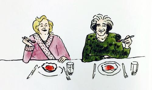 A Red Borscht Recipe from Two Jewish Grandmothers