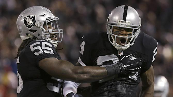 Raiders lead Chiefs 7-0 after 1st quarter