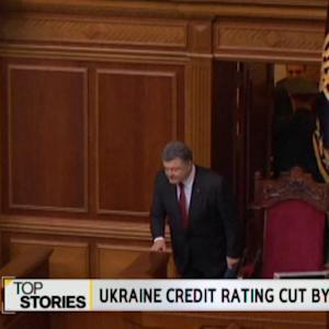 Ukraine Credit Rating Cut By S&P