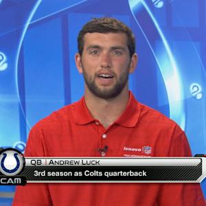 Indianapolis Colts quarterback Andrew Luck: 'Excited' about weapons on offense