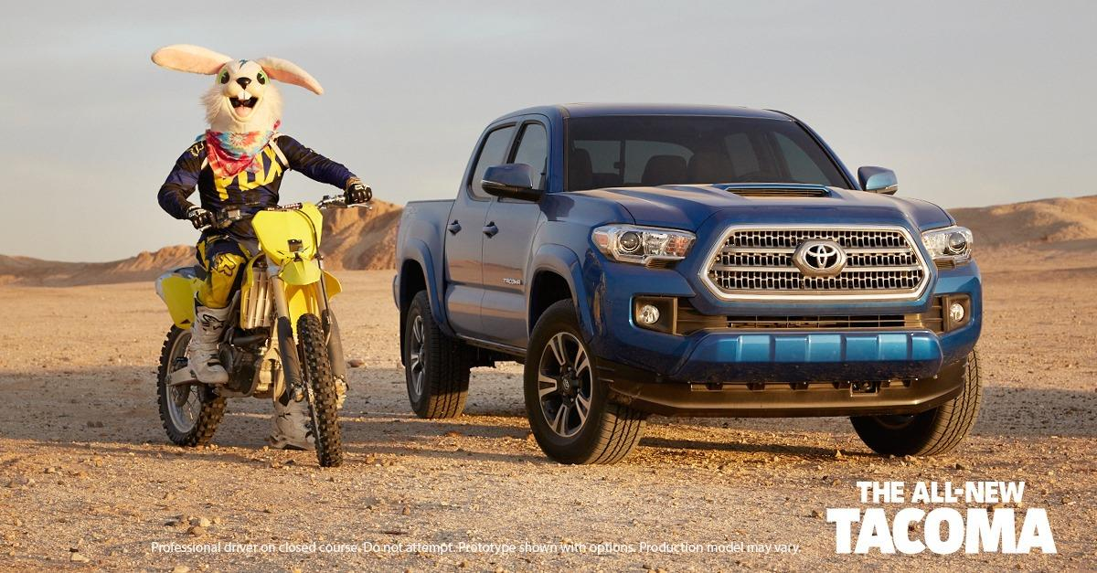 Play Never Ends With the All-New Tacoma