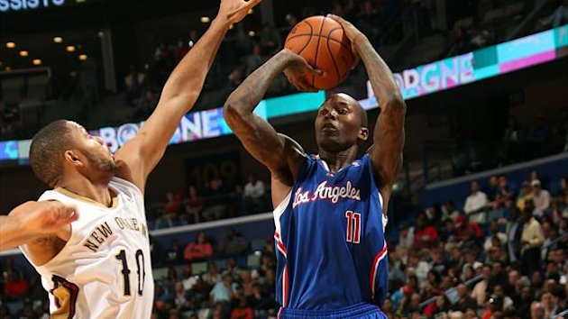 Jamal Crawford #11 of the Los Angeles Clippers shoots against the New Orleans Pelicans (AFP)