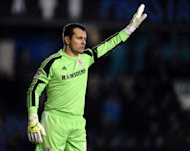Middlesbrough's goalkeeper Shay Given