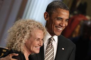 Carole King Honored With Gershwin Prize at White House Ceremony