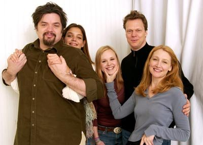 Oliver Platt, Katie Holmes, Allison Pill, Peter Hedges, Patricia Clarkson Pieces of April Sundance Film Festival 1/19/2003